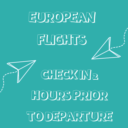 Teesside International Airport Departures - european flights
