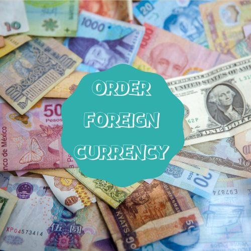 Teesside International Airport Departures - foreign currency exchange
