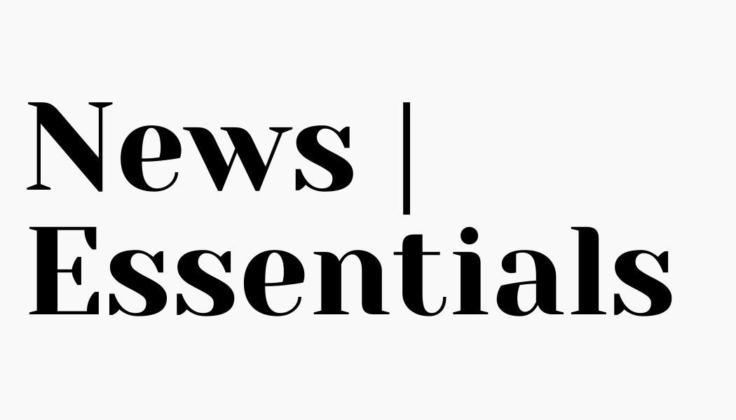 News | Essentials logo